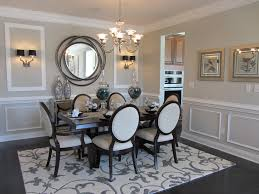 wall mirrors for dining room. Unique Wall Mirrors Dining Room Contemporary With Black And White  Chairs Gray Walls For A