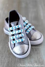 chevron glitter shoe laces a mod podge rocks stencil giveaway