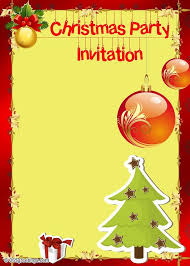 printable christmas invitations printable christmas invitation templates halloween holidays wizard