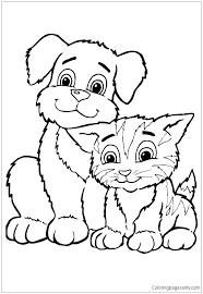 Free Puppy Coloring Pages Baby Puppy Coloring Pages Baby Puppy