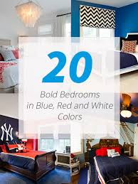 red and white furniture. Blue Red White Bedrooms And Furniture