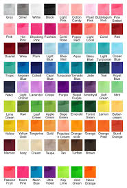 Offray Grosgrain Ribbon Color Chart Hbc Grosgrain Digital Color Chart