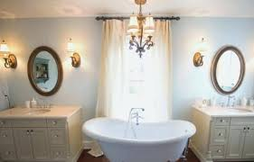 chandelier over bathtub crystal chandelier over bathtub