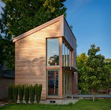 tiny backyard home office. This Copper, Glass And Cedar \ Tiny Backyard Home Office