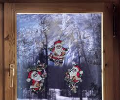 Gardinen Welt Online Shop Fensterbild Mit Weihnachtsmotiv
