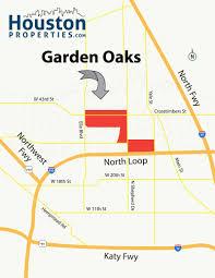 garden oaks houston map
