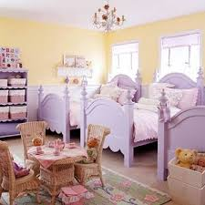 d Bedroom Ideas for Girls Sister Act Three lilac twin