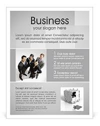 Business People Flyer Template & Design ID 0000002100 ...
