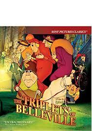 Triplets Of Belleville Amazon Com Triplets Of Belleville Blu Ray Sylvain Chomet Movies