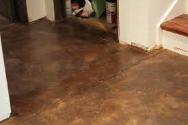 stylish stained concrete floors how to acid stain the prairie homestead diy concr stained concrete floors