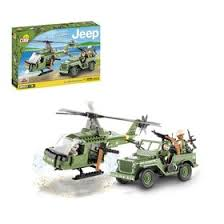 <b>Конструктор Cobi</b> Small Army 24254 <b>Jeep</b> Willys MB with Helicopter