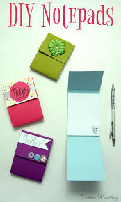 easy diy notepad using s paper and simple craft supplies