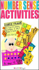 check out these fun and easy activities for teaching number sense in your preschool kindergarten