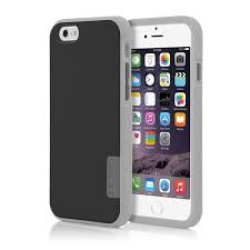 iphone 6 black and grey. incipio phenom drop protection case for iphone 6/6s - black/light grey/dark grey iphone 6 black and