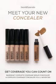 Light Full Coverage Concealer Bareskin Complete Coverage Serum Concealer Concealer