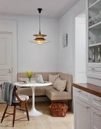 kitchen banquette seating transitional with round table in corner inspirations 8