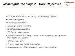 Meaningful Use Stages Chart Affordable Healthcare It Solutions Mu Rx Compliance With