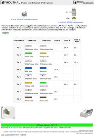 Cat5e Poe Wiring Diagram Cat 5e Wiring Schematic Hikvision