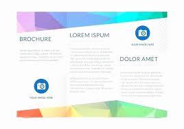 Microsoft Word Tri Fold Template New Tri Fold Brochure Microsoft Adorable Free Tri Fold Brochure Templates Word