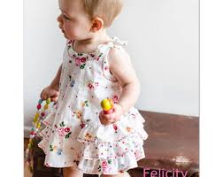 Baby Girl Dress Patterns Beauteous Baby Bloomer Pattern Etsy
