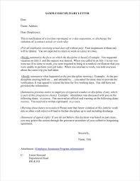 Employee Reprimand Template Virtren Com