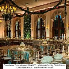soundwave entertainment orlando country club orlando wedding djs led lighting design orlando