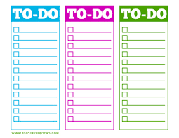 to do lists templates printable to do lists http 100simplebooks com free printable to