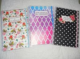 Home Finance Bill Organizer 2015 Bill Organizer And Monthly Home Finance With Pockets 3 To Choose From