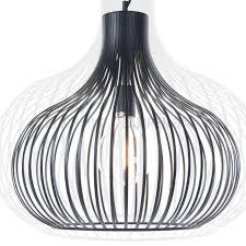 Tafellamp Grote Zwarte Draad Hanglamp Xl Aglio ø Cm Kopen Klik Om