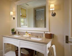 framed bathroom vanity mirrors. Framed Bathroom Mirrors Traditional With Countertop Jack And Jill Vanity