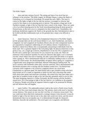 the killer angels documents course hero killer angels book essay