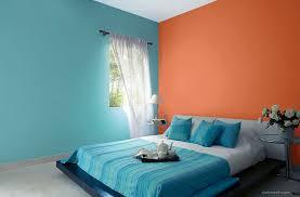 Orange And Blue Bedroom Orange Blue Bedroom Colour Ideas 6