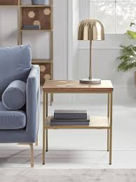new hive brass inlay side table