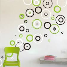 rings vinyl wall decals bedroom shape designs circle wall intended for popular home circle wall decor designs