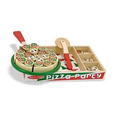 Melissa And Doug Wooden Games Adorable Pizza Party Wooden Play Food Melissa Doug