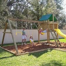 marvelous manificent backyard swing set 25 unique swing set kits ideas on swing sets diy