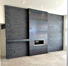 here is a candid shot of a hot roll natural steel fireplace and mantel we