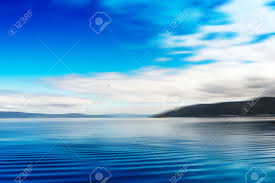 Ocean Background Hd Norway Islands In Ocean Abstract Background Hd Stock Photo Picture