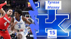 Tyrese Maxey vs OSU Highlights 15 ...