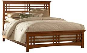 Amazon.com: Avery Mission Style Bed (Full): Kitchen & Dining