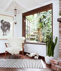 wood trim white walls 5