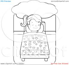 Cartoon Clipart Of A Black And