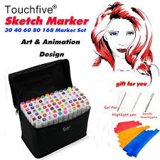 Online Shop <b>TOUCHFIVE</b> Maker <b>30/40/60/80</b>/168 <b>Colors</b> Art Makers ...