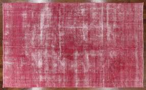 8 x13 pink overdyed rug fl hand knotted oriental area rugs h3052