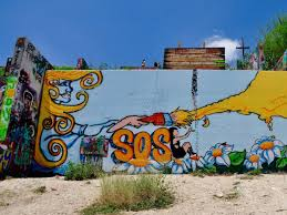 sos mural castle hill austin on castle hill wall art with castle hill graffiti park will be demolished but it s not gone