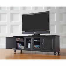 Crosley Furniture Cambridge Low Profile TV Stand For TVs Up To 60 60 Tv Stand2
