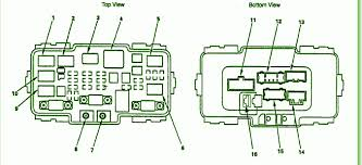 fuse box schematic honda civic fuse box 2005 honda wiring diagrams