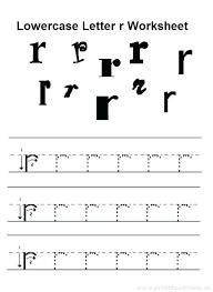 Kindergarten Letter Practice Worksheets Tracing Alphabet Full Size ...