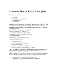 Resume Example For Customer Service Download By Resume Customer ...