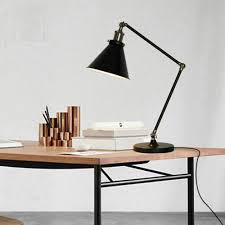 full size of desk attractive office desk lamps black finish metal material adjustable height and attractive office desk metal
